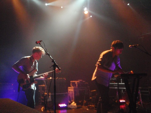 Grizzly Bear live at the Koko 4